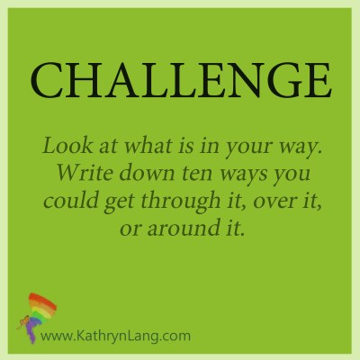 Challenge to find your way