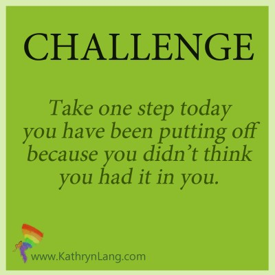 Challenge for July 4 2019 - take a step