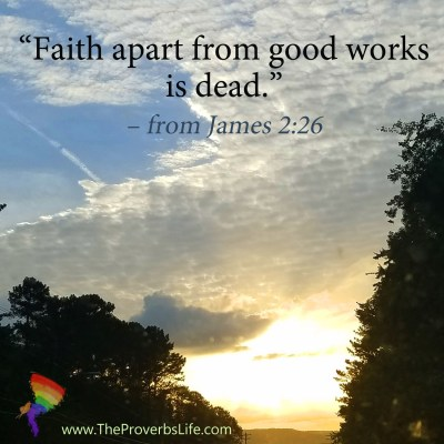 Scripture Focus - James 2:26
