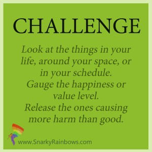 Daily challenge - define your happiness