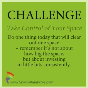 Daily Challenge - take control of your space