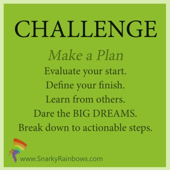 Daily Challenge - Make a Plan