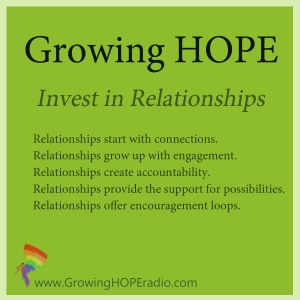 #GrowingHOPE 5 points - relationships