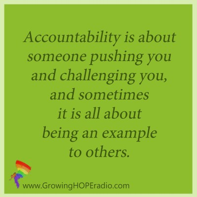 Growing HOPE Daily - accountability pushes