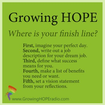 Growing HOPE Podcast 5 Points for defining your finish