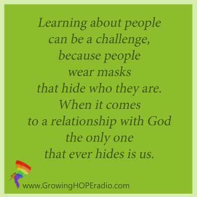 Growing HOPE Daily quote - relationship with God