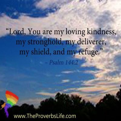 Scripture Focus - Psalm 144:2