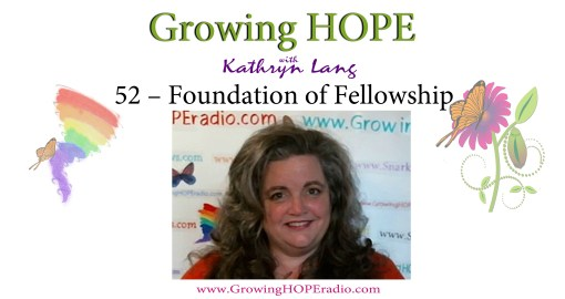 GrowingHOPE Daily - header - 52 - Foundation of Fellowship
