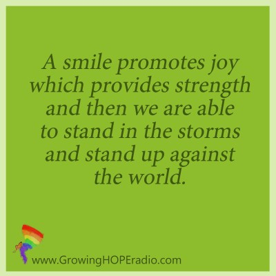 Growing HOPE - quote smiles promote