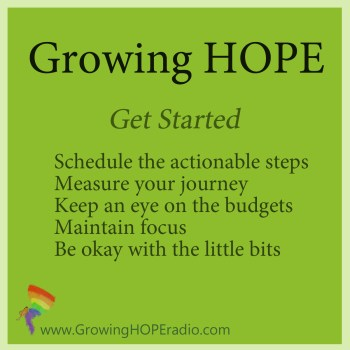 Growing HOPE Daily - 5 points to get started