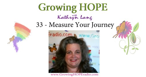 Growing HOPE Daily - 33 - Measure Your Journey
