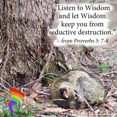 Scripture Focus - Proverbs 5:7-8
