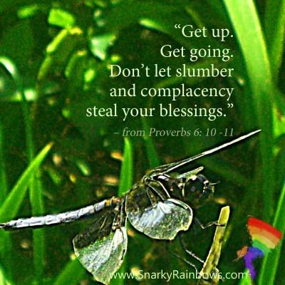 Scripture Focus - Proverbs 6:10-11