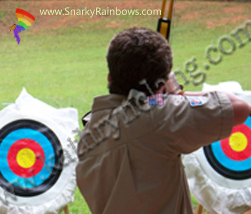 staying on target finding your way Snarky Rainbows Kathryn Lang