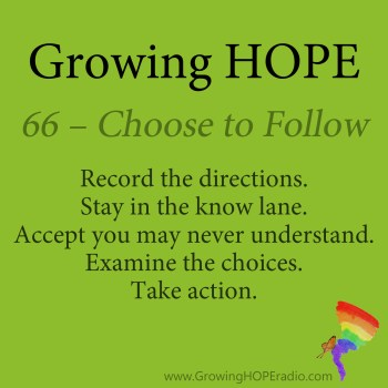 Growing HOPE Daily - 5 Points - Choose to Follow