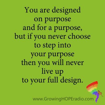 Growing HOPE Daily - Quote - your full design