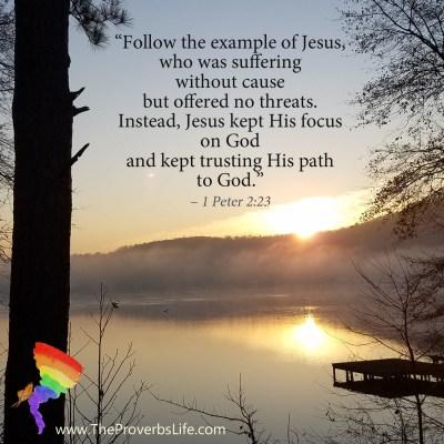 Scripture Focus - 1 Peter 2:23