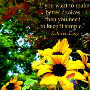 Quote of the Day - keep it simple