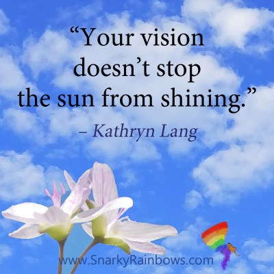 #QuoteoftheDay - vision and sun shining