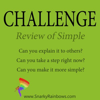 Daily Challenge - review of simple