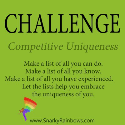 Daily Challenge - competitive uniqueness