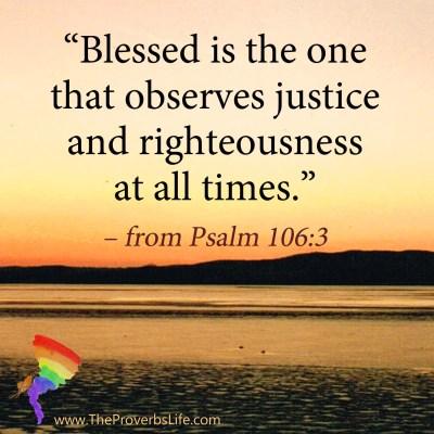 Scripture Focus Psalm 106:3