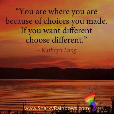#QuoteoftheDay - want different choose different