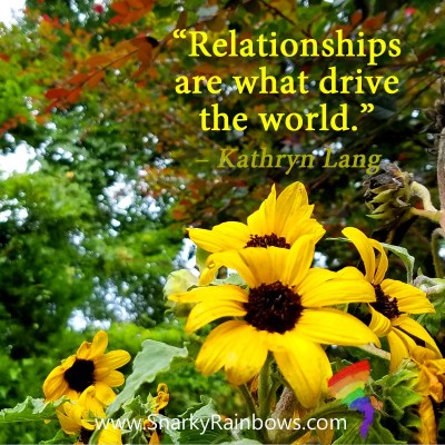 #QuoteoftheDay - relationships drive the world