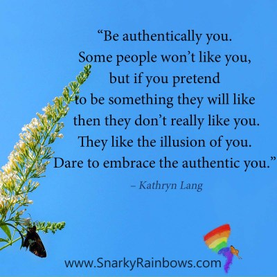 #QuoteoftheDay - be authentically you