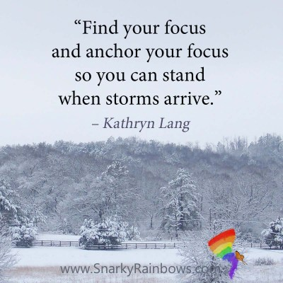 #Quoteoftheday - find your focus
