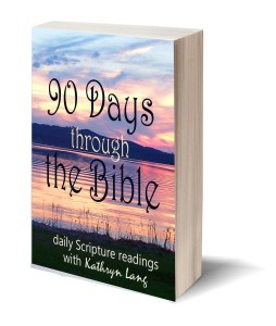 90 Days through the Bible cover