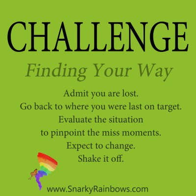 Daily Challenge - finding your way