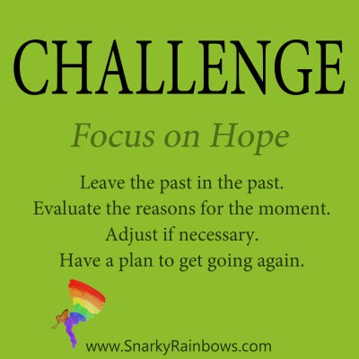 daily challenge - focus on hope