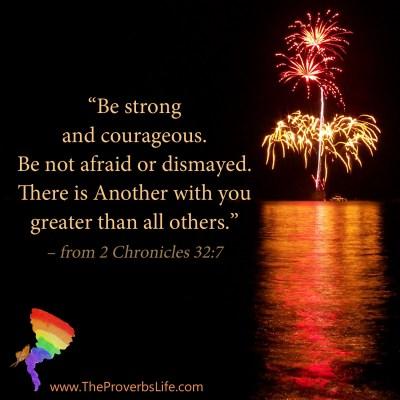 Scripture Focus - 2 Chronicles 32:7