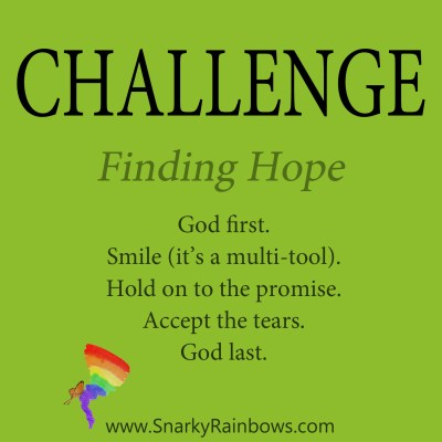 daily challenge - finding hope