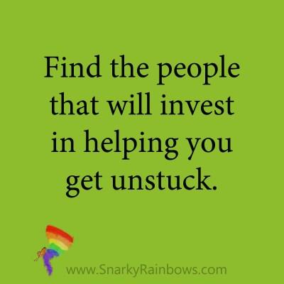quote - get unstuck