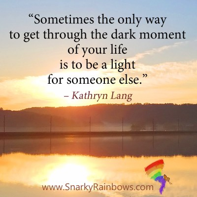 #QuoteoftheDay - be a light
