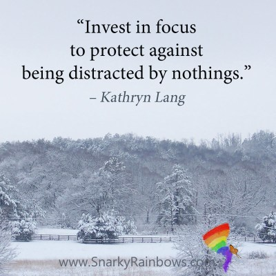 #Quoteoftheday - invest in focus