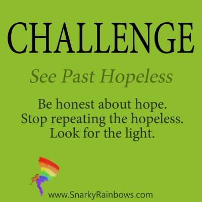 Daily Challenge - see past hopeless