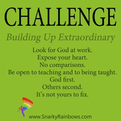 daily challenge - building up extraordinary