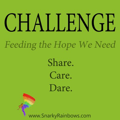 daily challenge - feed the hope we need
