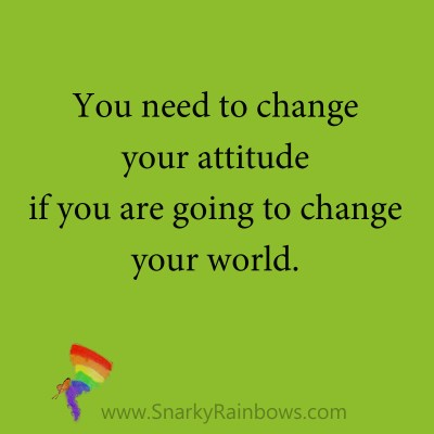 quote change your attitude