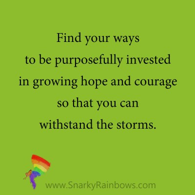 quote - purposefully invested in growing hope
