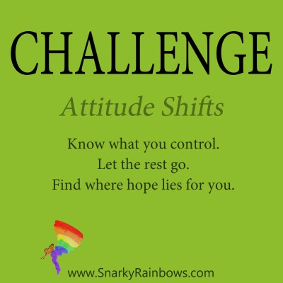 daily challenge - attitude shifts