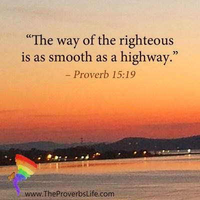Scripture Focus - Proverb 15:19