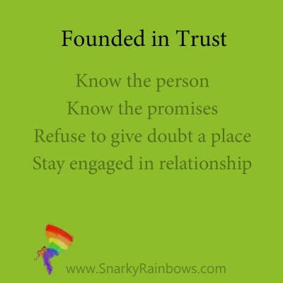 founded in trust