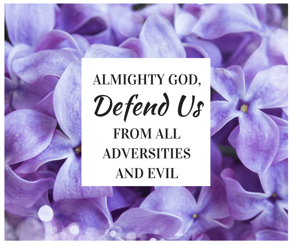 God, Defend Us From Evil