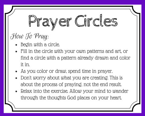 Do you love coloring? Did you know you can use coloring as a form of prayer? Learn more about the ancient practice of praying through art and connect to God in a new way through a mandala prayer. {+free printable prayer cards}