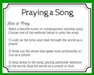 Song as Prayer