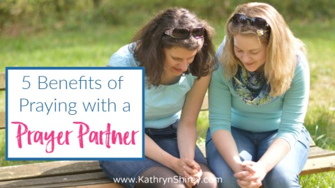 5 Benefits of Praying with a Prayer Partner